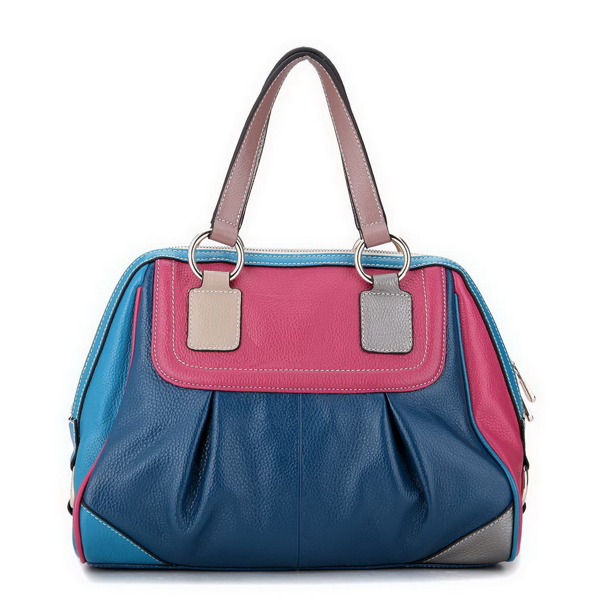 ... : Home  Women's Bags  Tote Bags  Designer leather handbag Blue