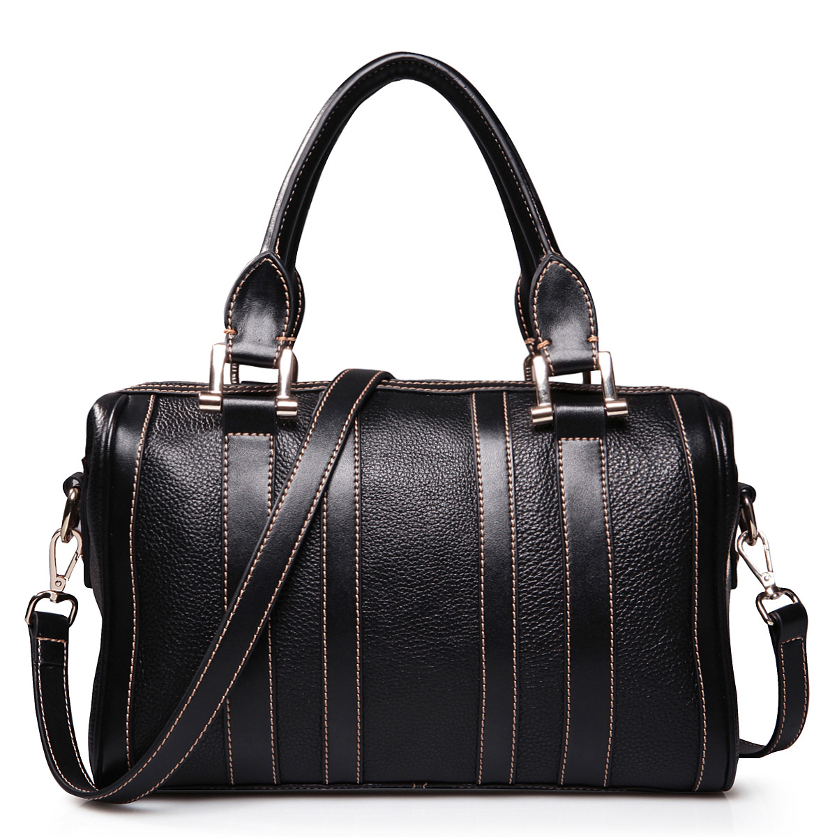 Home > Women s Bags > Hobo Bags > Cowhide lady handbags black