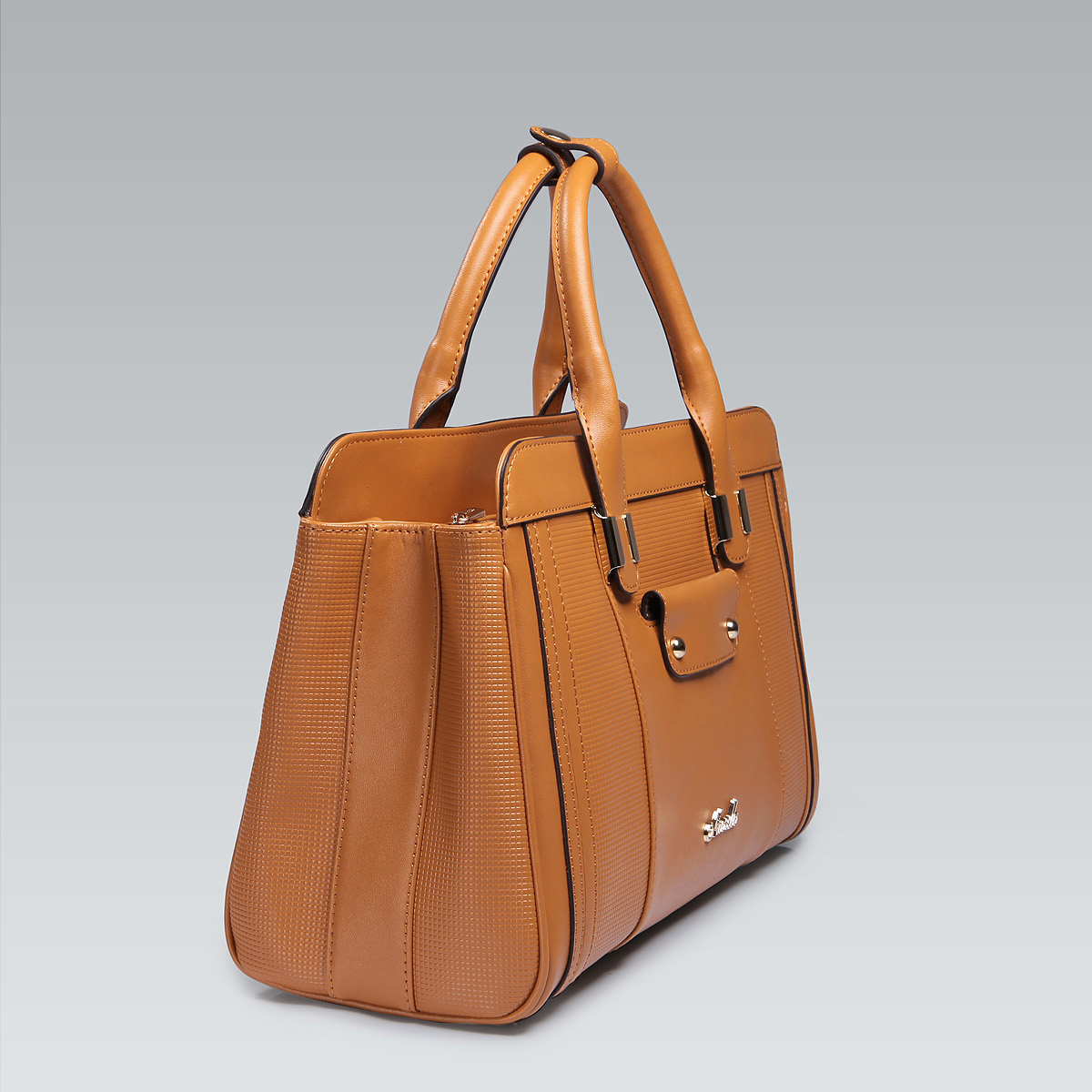 Fantastic Ladies Trasea Italian Leather Handbag - Brown