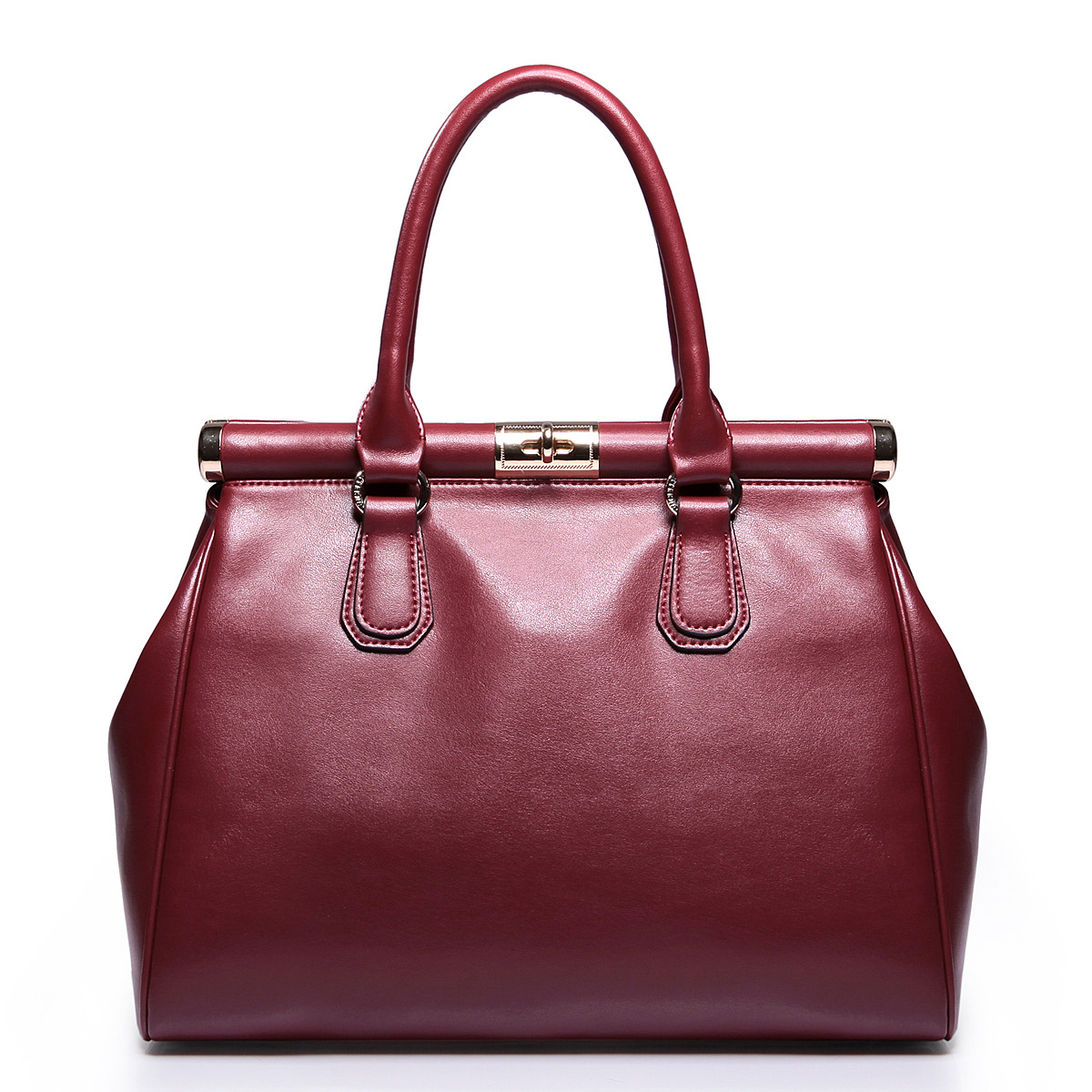 Red Leather Bags Women