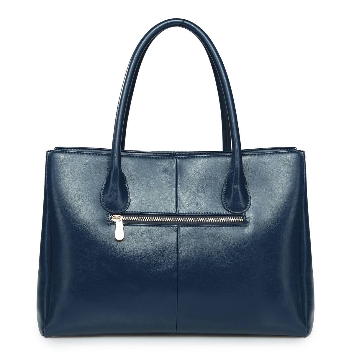 ... Bags  Women's Handbags  Elegance cowhide leather handbag Blue