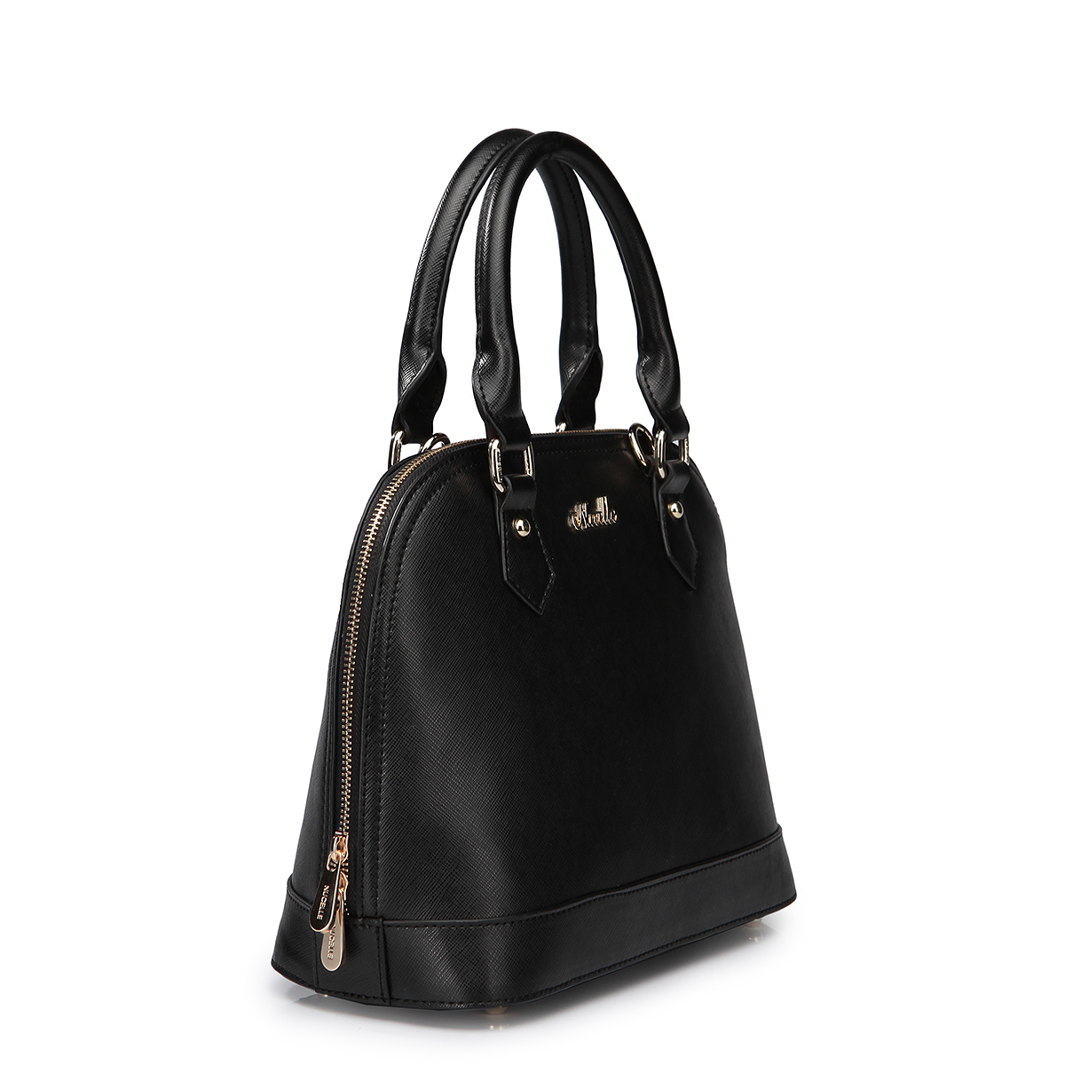Lady Leather Bags Black