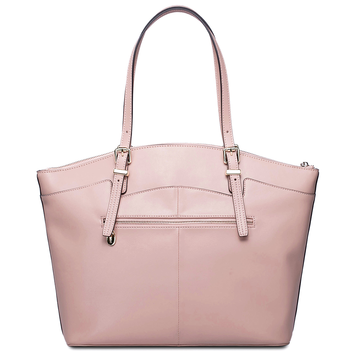 big size women leather shoulder bag Pink