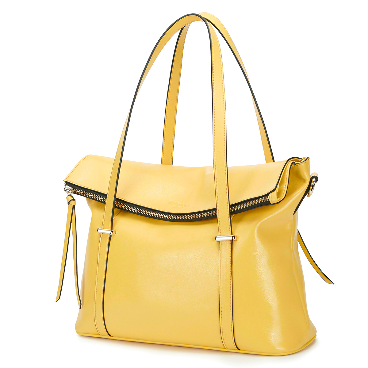 Vercation big size NUCELLE leather Tote bag Yellow - See more at: http://www.bagtreeok.com/goods-7205.html#sthash.c6mNPfrf.dpuf
