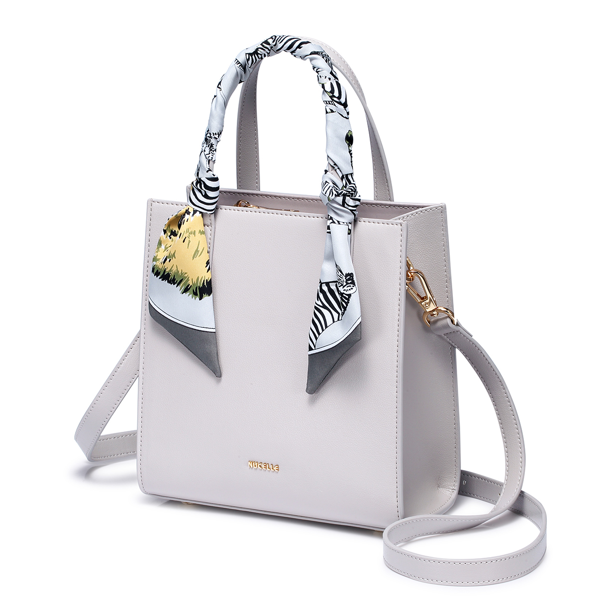Nucelle 2020 New Lady Elegant Handbag Gray