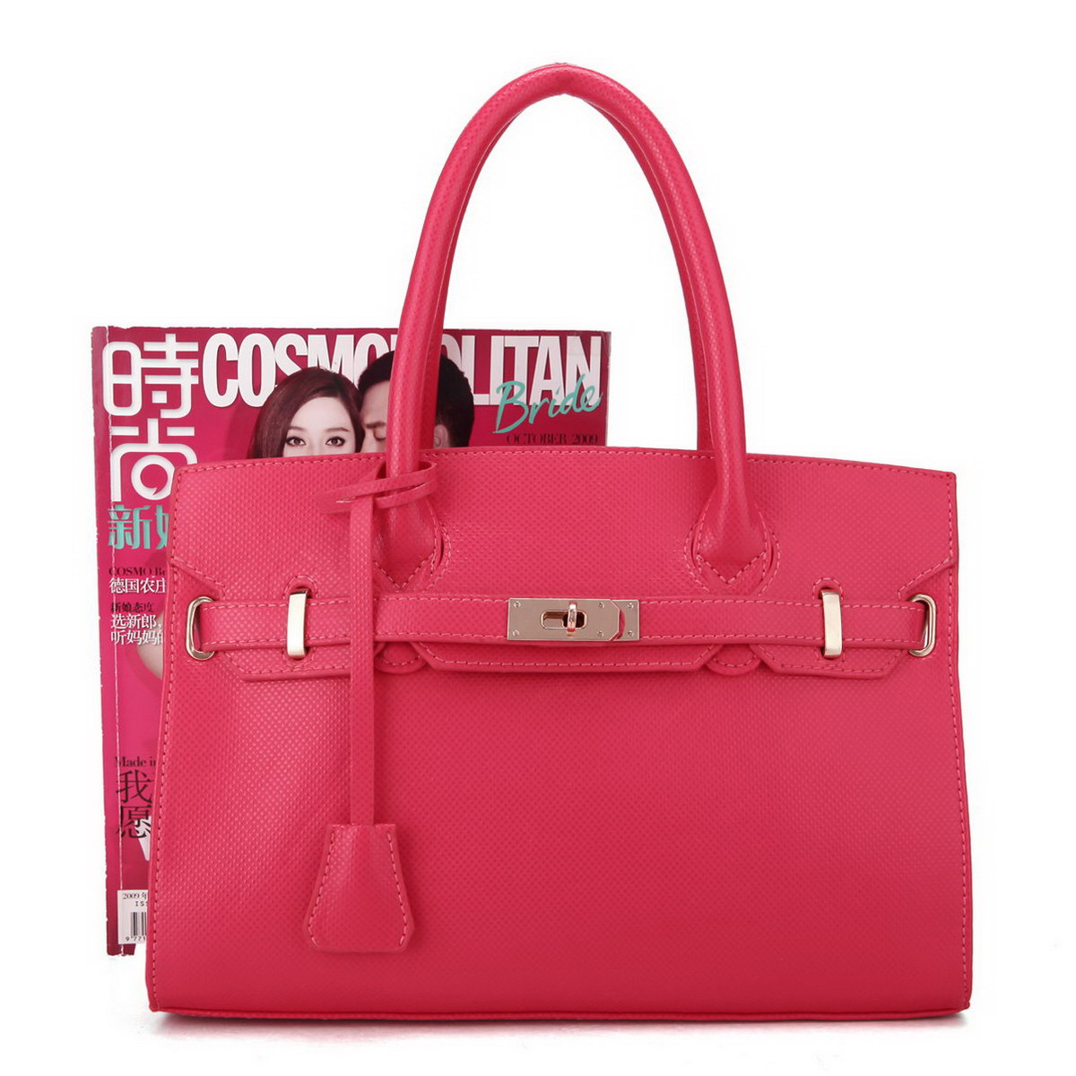 Wholesale women tote bag Red