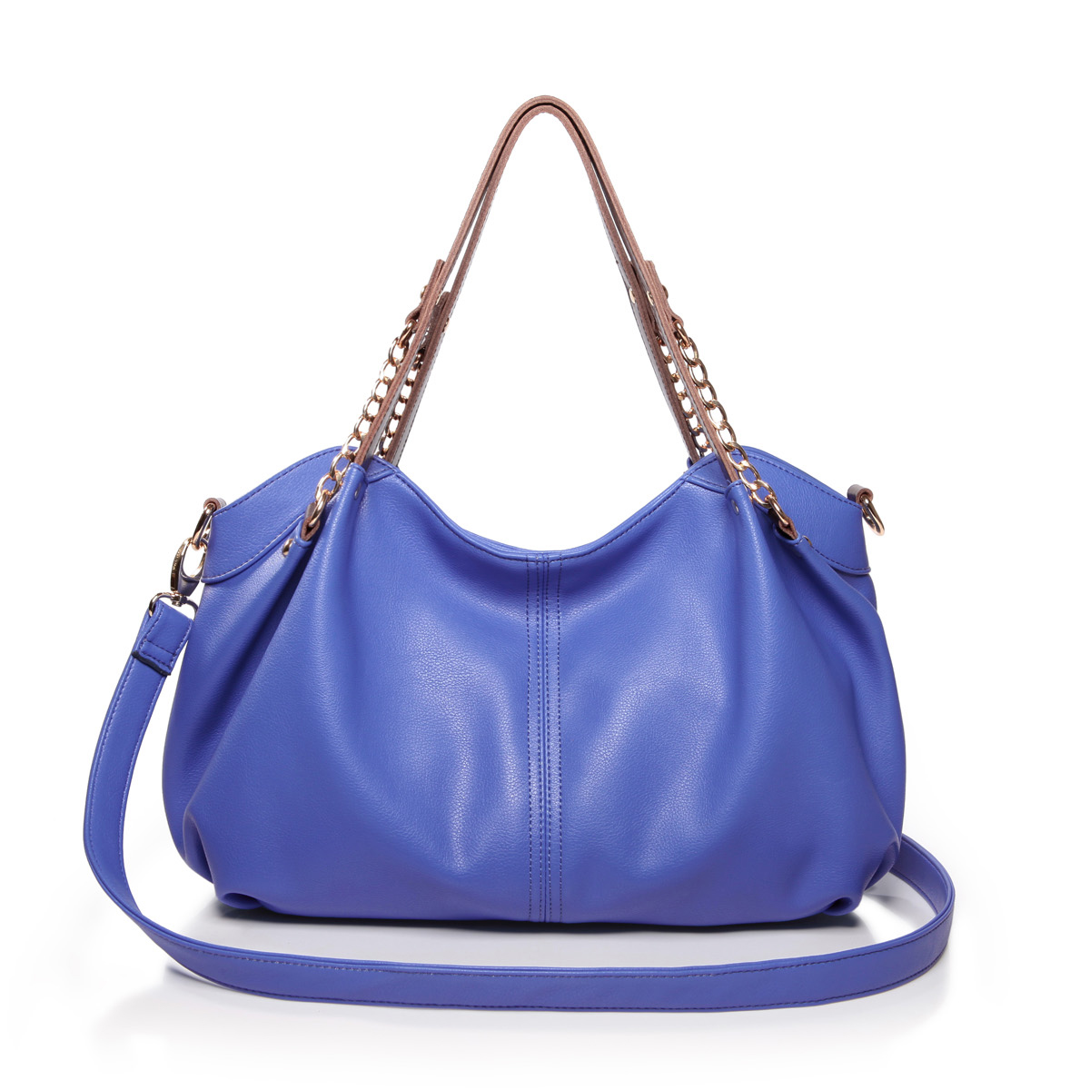 ... : Home  Women's Bags  Shoulder Bags  Time series leather bags blue
