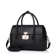 NUCELLE Retro fashion series Boston women leather bag Black,Casual bags, handbags wholesale, brand bags