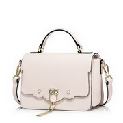 NUCELLE Top PU Leather 2017 New Season Hot Selling Lady Shoulder Bag Pink,Casual bags, handbags wholesale, brand bags