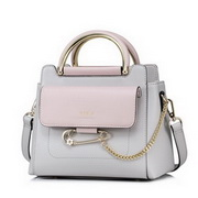 NUCELLE 2017 Popular Contrast Color Elegant Handbag Gray,Casual bags, handbags wholesale, brand bags