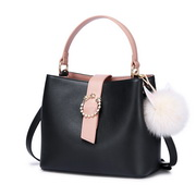 NUCELLE 2018 Stylish Women Bucket Bag Black,Casual bags, handbags wholesale, brand bags