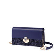 NUCELLE 2019 New Women Shiny Shoulder Bag Blue,Casual bags, handbags wholesale, brand bags
