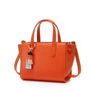 NUCELLE 2020 High Quality Simple Classical Women Hand Bag Shoulder Bag Orange,Casual bags, handbags wholesale, brand bags