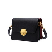 NUCELLE 2020 High Quality Contrast Double color Women Shoulder Bag Black&Wine Red,Casual bags, handbags wholesale, brand bags