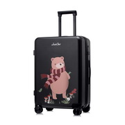 JUST STAR 2018 New Unique Travelling Luggage Black 24Inch,Casual bags, handbags wholesale, brand bags