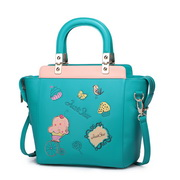 Just Star fairy tale world cute shoulder handbag Green,Casual bags, handbags wholesale, brand bags