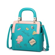 Funny Lovely embroidery patter n shoulder bag Green,Casual bags, handbags wholesale, brand bags