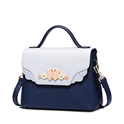 JUST STAR PU 2018 New Sweet Butterfly Messenger Bag Blue,Casual bags, handbags wholesale, brand bags