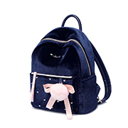 JUST STAR 2018 New Sweet Winter Backpack Blue,Casual bags, handbags wholesale, brand bags