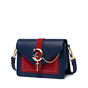 JUST STAR PU 2018 New Fashion Girls Shoulder Bag Blue,Casual bags, handbags wholesale, brand bags