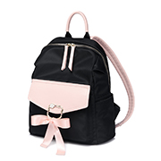 JUST STAR 2018 New Lovely Girl Backpack Black,Casual bags, handbags wholesale, brand bags