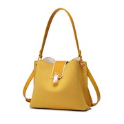 JUST STAR 2019 New Fashion Bucket Bag Yellow,Casual bags, handbags wholesale, brand bags
