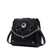 JUST STAR 2020 Autumn Hot Design Big Capacity Women Shoulder Bag Black,Casual bags, handbags wholesale, brand bags