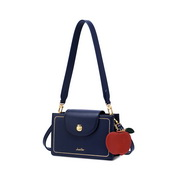 JUST STAR 2020 Christmas Apple Design Casual Women Shoulder Square Bag Blue,Casual bags, handbags wholesale, brand bags