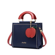 JUST STRA 2020 Christmas Apple Design Urban Women Shoulder Bag Hand Bag Blue,Casual bags, handbags wholesale, brand bags