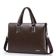 SAMMONS Real leather men business bag  Coffee,Casual bags, handbags wholesale, brand bags