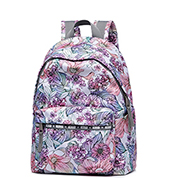 JOLUCY 2017 European Art Pattern Terylene Light Backpack Pink&Gray,Casual bags, handbags wholesale, brand bags