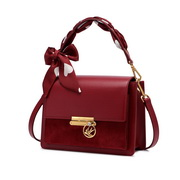 NUCELLE 2020 New Fashionable Romantic Bow Scarf Women Shoulder Bag Red,Casual bags, handbags wholesale, brand bags
