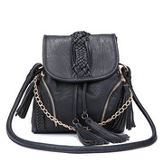 women backpack bag Black