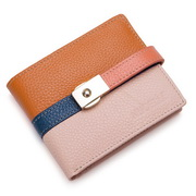 Genuines leather wallet Pink