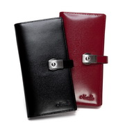 Genuines leather wallet Black