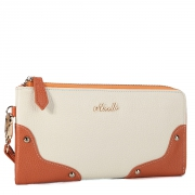 Women clutch bag Orange
