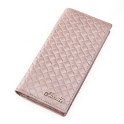 Lady long-sized wallet Pink