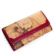 traveler series lady wallet red