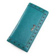 Women long style wallet Blue