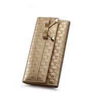 women fashion wallet Gold