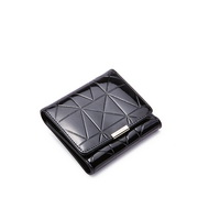 Princess series NUCELLE Women leather wallet  Black