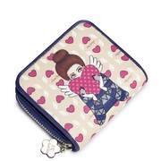 2015.Sept.NUCELLE women leather wallet Pink