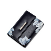 Dreaming about series leather purse Black