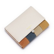 NUCELLE 2017 New Winter Popular Frosted Horizontal Wallet Apricot
