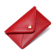JUST STAR PU 2019 New Fashion Card Pocket Red