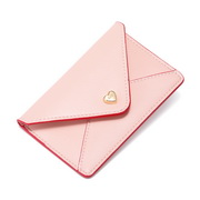 JUST STAR PU 2019 New Fashion Card Pocket Pink