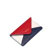 JUST STAR 2019 New Contrast Color Card Wallet Red