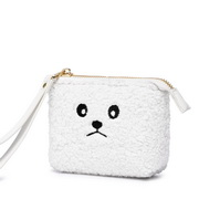 JUST STAR 2019 New Cute Soft Wallet White