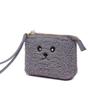 JUST STAR 2019 New Cute Soft Wallet Gray