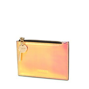 NUCELLE 2019 New Fashion Colorful Coin Wallet Card Pocket Pink